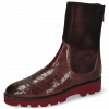 Bottines Susan 69 Crock Textile Prisma Wine
