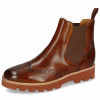 Bottines Selina 6 Wood Elastic Brown Lining