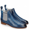 Bottines Susan 10 Vegas Turtle Perfo Mid Blue