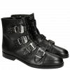Bottines Susan 44  Crust Black HRS Black