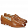 Mocassins Scarlett 22 Glove Nappa Tan Trim Gold