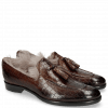 Mocassins Clint 6  Crock Mid Brown Fur