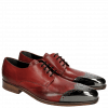 Derbies Lance 1 Brilliant Red Metal Toe Cap