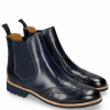 Bottines Selina 6 Marine Elastic Navy