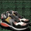 Sneakers Kobe 1 Suede Pattini Black Ruby White Sol Navy