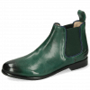 Bottines Selina 48 Imola Dark Green Binding Navy