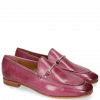 Mocassins Scarlett 1 Fuxia Trim Gold