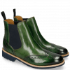 Bottines Selina 6 Harris Green Elastic Navy