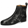Bottines Susan 45 Black Loop Black Lining