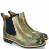 Bottines Amelie 5 Brazil Soft Harris Green Elastic Navy