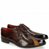 Derbies Toni 8 Mid Brown Dice Yellow