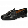 Mocassins Scarlett 48 Pisa Black Accessory Gold Black Ruby