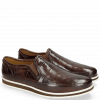 Mocassins Harry 2 Turtle Dark Brown Modica Off White