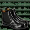 Bottines Amelie 5 Black Elastic Black LS