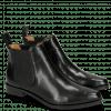 Bottines Marlin 4 Black Elastic Black HRS Black Brown