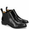 Bottines Marlin 4 Black Elastic Black HRS Black Brown