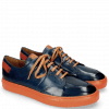 Sneakers Harvey 15 Navy Lining Orange