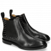 Bottines Katrin 3 Black Rivets