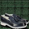 Mocassins Eddy 16 Navy Textile Dots Blue