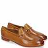Mocassins Scarlett 22 Pisa Tan Trim Gold