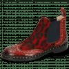Bottines Sally 45 Crock Ruby Hairon Tanzania Red