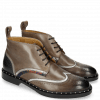 Bottines Sally 30 Stone Silver Nappa Aztek Navy