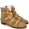 Bottines Susan 44 Sherling Beige Suede Chilena Tan Strap Sand