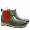Bottines Amelie 5 Militaire Elastic Orange Rook D Sabbia