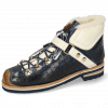 Bottines Eliza 1 Crock Navy Vegas White Strap