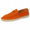 Mocassins Sandro 3 Oily Suede Orange Strap