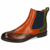 Bottines Amelie 5  Wood Winter Orange New Grass Stone