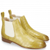 Bottines Sally 25 Vegas Perfo Olivine Elastic Off White