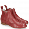 Bottines Sally 129 Nappa Glove Perfo Rich Red