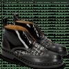 Bottines Sally 30 Black Fermont Gunmetal Textile Duke Spark
