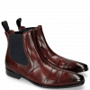Bottines Elvis 12 Burgundy Dark Finish
