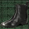 Bottines May 1 Nappa Black Toe Metal