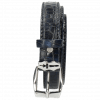 Ceintures Linda 1  Crock Navy Sword Buckle