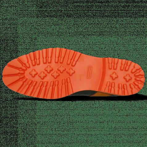 Bottines Eddy 26R Crock Pine Strap Suede Orange