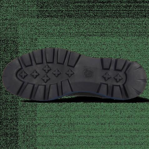 Bottines Jade 8 Imola Black Elastic Ribbed