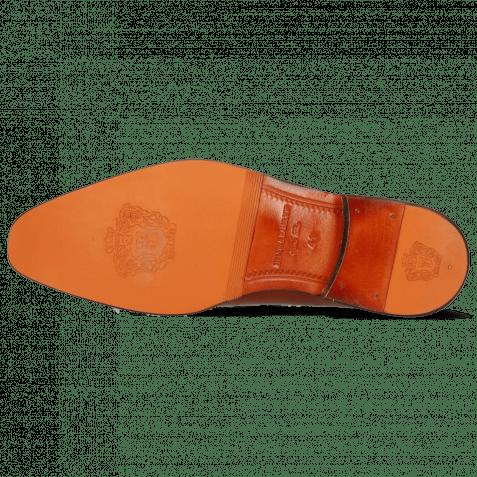 Mocassins Leonardo 24 Cashmere Shade Orange Winter Orange