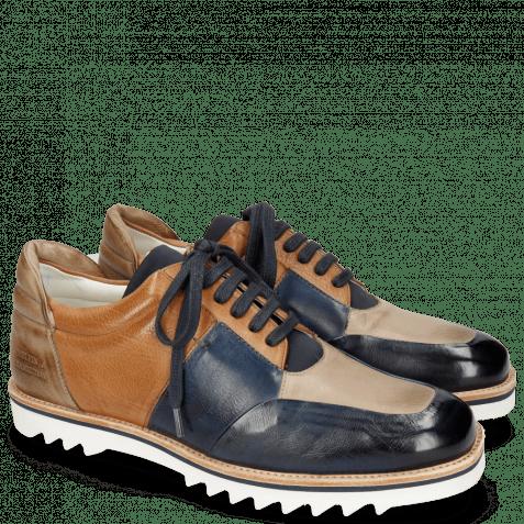 Sneakers Niven 17 Pavia Navy Stone Tan