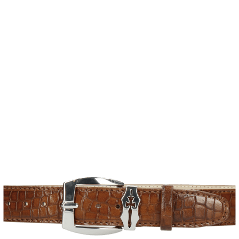 Ceintures Larry 1 Crock Mid Brown Sword Buckle