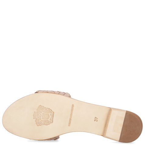 Mules Hanna 26  Woven Lilac LS