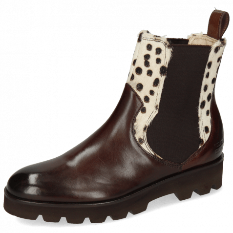 Bottines Sally 113 Mogano Hairon Wildcat