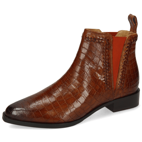 Bottines Marlin 10 Crock Mid Brown Vacchetta Tan