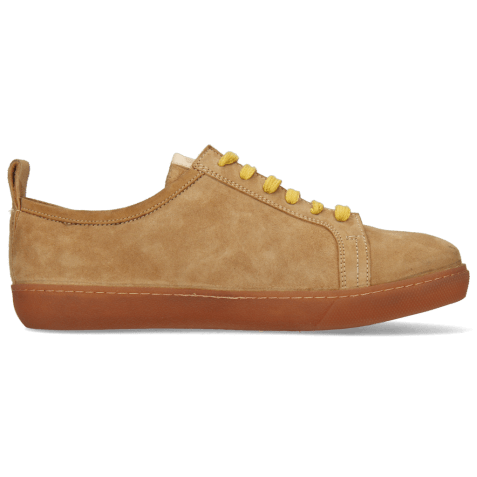Sneakers Amber 1 Sheep Suede Camel