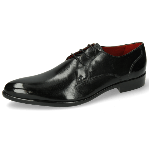 Derbies Toni 1 Black Lining Red HRS