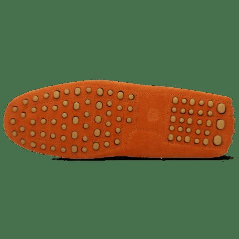 Mocassins Nelson 1 Suede Pattini Winter Orange