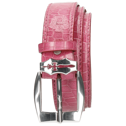 Ceintures Larry 1 Crock Fuxia Sword Buckle