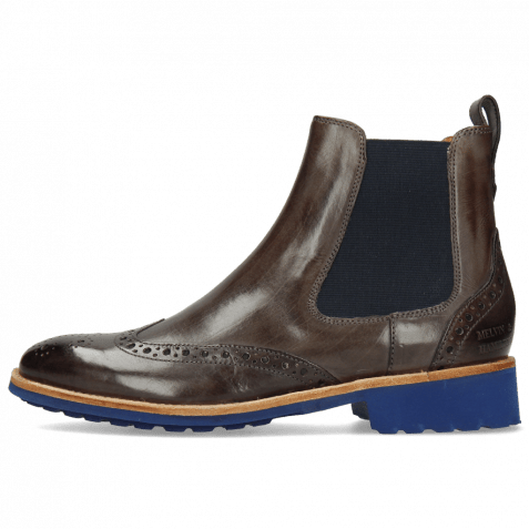 Bottines Amelie 5 Deep Steel Elastic Navy